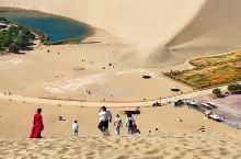 大风吹来了鸣沙山,永不干涸的月牙泉,这沙漠中的泉水到底从哪里来? #最美鸣沙山月牙泉