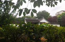 雨后清晨的水绘园