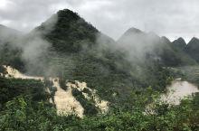 偶遇大山深处自然风景