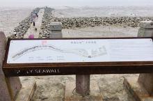 经过海盐,距离海盐城墙遗址公园不远处的钱塘江边有观海园,是一个观钱塘江潮的堤坝江塘。周边有不多的停车