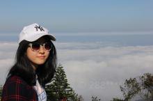 越南岘港巴拿山的云海