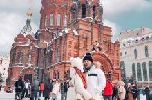 哈尔滨/圣索菲亚教堂拍照穿搭一键调色