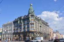 7月22日 圣彼得堡第六站 漫步涅瓦河畔/列夫斯基大街 列夫斯基大街上有许多古建筑,受高度不能超过冬