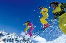 冬日打卡必备—响沙湾滑雪
