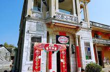 台山市水步镇草坪里 草坪里今年挑花开得非常漂亮,现在又增加了台山特色小吃和台山黄鳝饭,还有水上旅店。