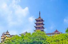 """第一次去南通旅游必游的一个标志性景点,慕名而去,参观号称""""江海第一山""""的狼山,想象中,""""江海第一山"""""""