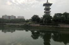 大泗洪河滨风光