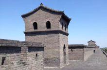 平遥古城墙上一游