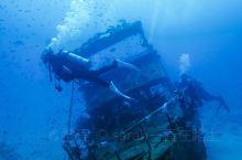 潜水考证AOW第二天,潜入38米的沉船