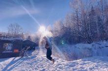 南方孩子来北方看雪