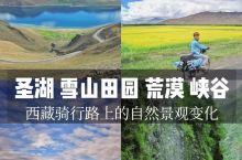 山水田园·西藏|从圣湖雪山到田园荒漠峡谷