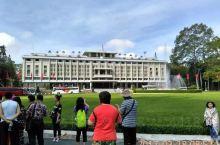 胡志明市,打卡,总统府。  统一宫
