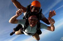 迪拜棕榈岛跳伞丨打卡全球最美跳伞基地
