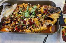 很好吃的一家烤鱼店 在鹰潭凯翔广场楼上