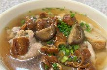 蘑菇猪肠粿汁
