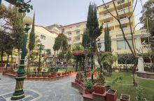 酒店里的公园