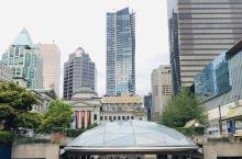温哥华市中心,高楼大厦