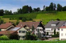 瑞士美丽的小山村。