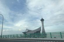 杭州湾跨海大桥 台风后的大晴天