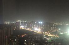 仁寿新城区的夜景……