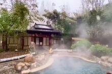白鹿温泉冬景