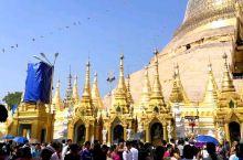 缅甸~仰光大金塔
