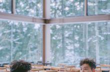 胡歌霍建华北海道星野同款冬季写真