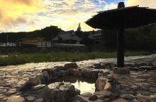 雨後の奥津温泉