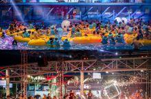 杭州夜晚好去处 | 水上乐园开启蹦迪模式