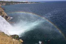地中海上身影曼妙的彩虹~ 令人惊叹~