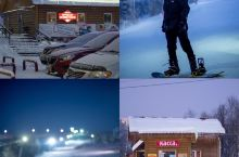 摩尔曼斯克|可以看到高速公路的城市滑雪场  据我所知摩尔曼斯克有两个雪场,一个是比较远在基洛夫斯克的