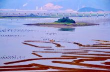 霞浦南湾村特色滩涂和东安岛鱼排