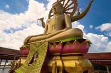 泰国苏梅岛的大佛寺