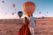 情侣们浪漫的土耳其等你们