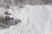 冬季的长白山,随手一拍便是水墨丹青