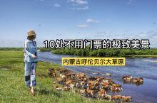 内蒙古呼伦贝尔大草原10处免费的美丽景观