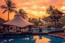 巴厘岛绝美晚霞
