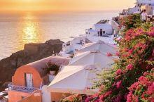 圣托里尼岛的阳光☀️