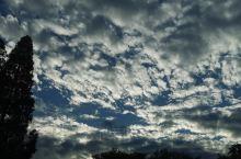 雨后的蓝天白云