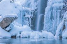 快来莫干山徒步看雪,冰瀑美翻了!