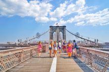 纽约去哪玩 I 布鲁克林大桥上的春日风光