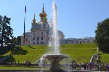 俄罗斯随手拍系列13-夏宫花园  圣彼得夏宫及花园  位于芬兰湾南岸的森林中,它距圣彼得堡市有3公里