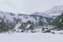 白川乡雪后的梦幻景色!