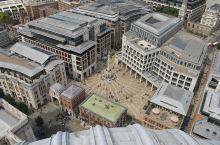 圣保罗大教堂俯瞰伦敦市景