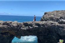 毛里求斯浪漫打卡地- 自然桥