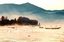 冬日泸沽湖