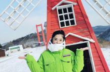 东北的乐趣...滑雪..
