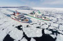 每年冬天,北海道北东的鄂霍次克海