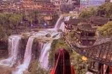 挂在瀑布上的千年古镇有生之年一定要