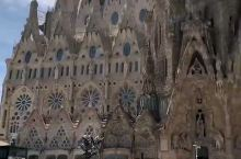巴塞罗那圣家堂-亲身感受那份震撼 当时高
